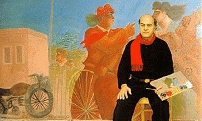 alekos fassianos 1935 Σπούδασε βιολί στο Ωδείο Αθηνών και ζωγραφική στην Ανώτατη Σχολή Καλών Τεχνών το διάστημα 1956-1960 στο εργαστήριο του Γιάννη Μόραλη. Το χαρακτηριστικό ύφος του Φασιανού διαμορφώνεται στις αρχές της δεκαετίας του '60. Τρία βασικά θέματα έμειναν αναλλοίωτα στη διάρκεια της πορείας του: άνθρωπος, φύση, περιβάλλον.