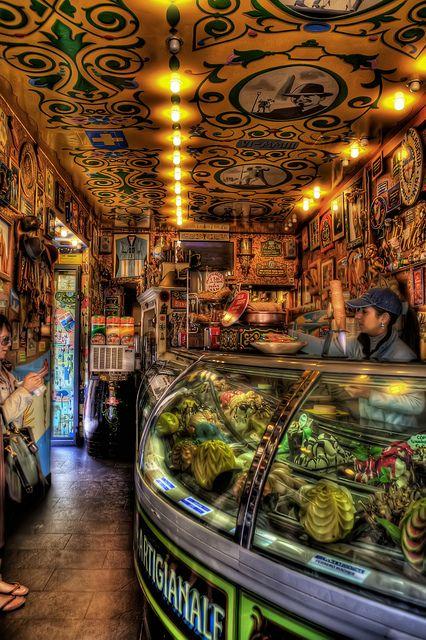 Gelato shop in Verona   Flickr - Photo Sharing!