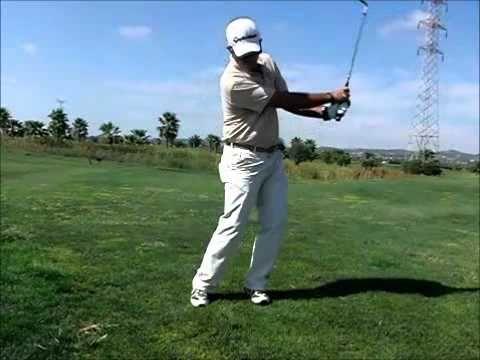 Clases de golf-bola mas alta-baja - YouTube