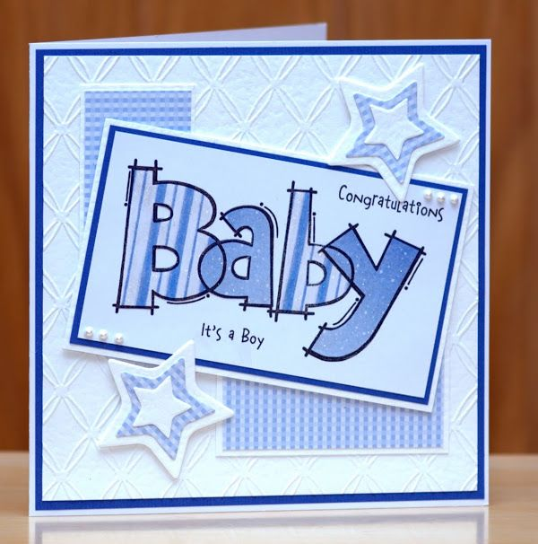 Woodware Huge Baby , paper pieced and finished of with clear wink of stella pen.