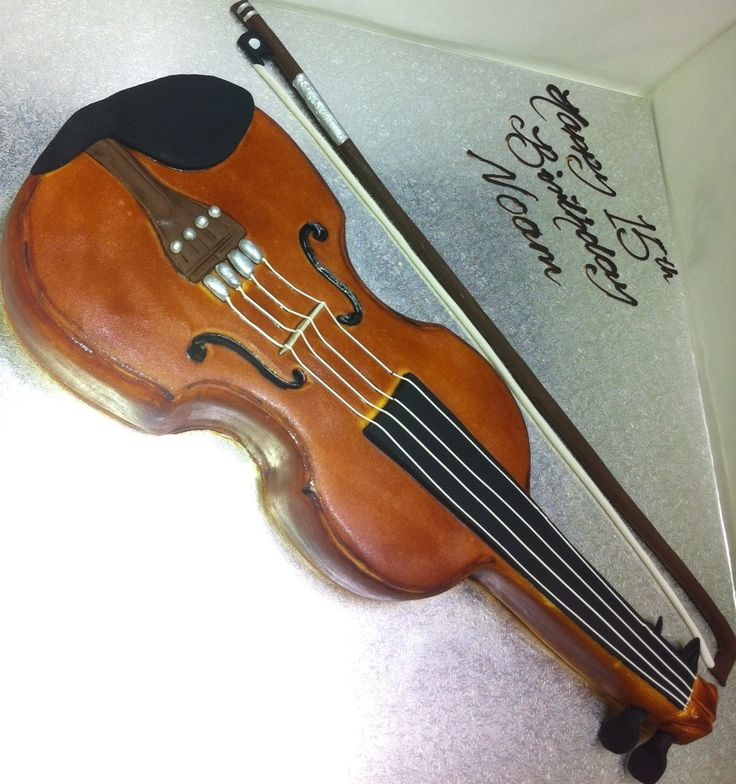 34 best images about violin cake on pinterest chocolate for Violin decorating ideas