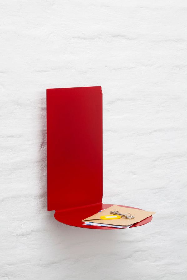 Plateau floating shelves by Felix Klingmüller for ECHTSTAHL