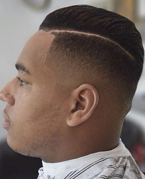 Cool Different Side Parted Mens Hairstyles