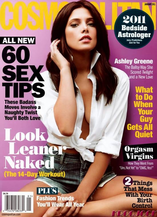 Ashley Greene – Cosmopolitan Magazine Cover
