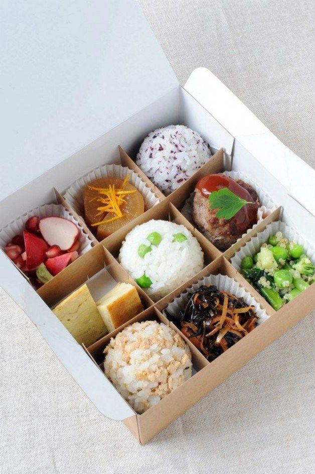 Rice Ball Bento | Mussubi