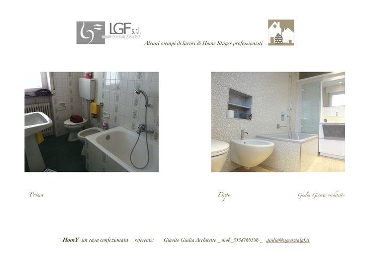 Intervento di reloking di Giulia Giavito Architetto Home Stager