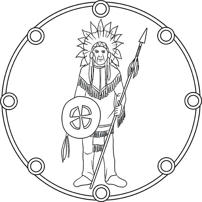 indianische mandalas with images  coloring pages adult