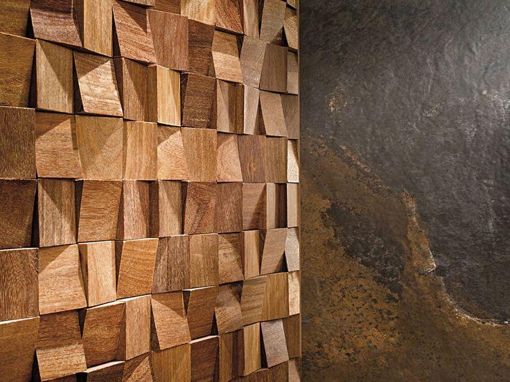 17 mejores ideas sobre revestimiento de paredes en - Revestimiento madera paredes ...