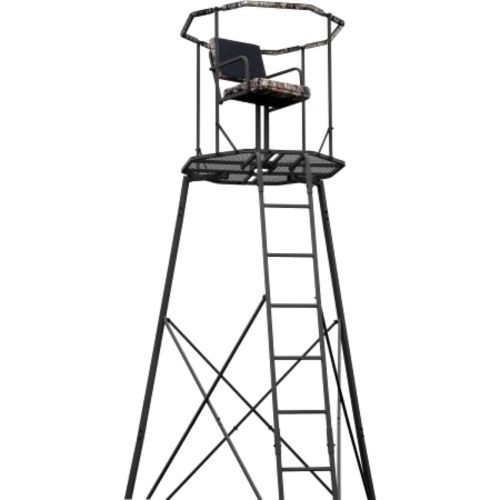 Tree Stands 52508: 15 Tripod Hunting Stand With Seat Tree Deer Ladder Bow Treestand Realtree New BUY IT NOW ONLY: $425.6