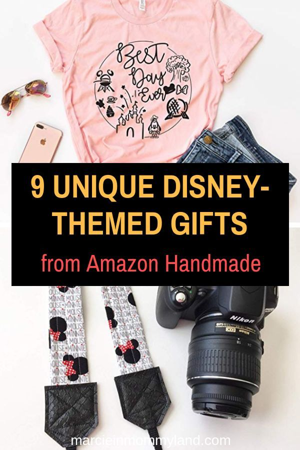 #ad Are you looking for the perfect Disney-themed gift thatu0027s unique and qualifies for Amazon Prime? Click to read more or pin to save for later. ... & 9 Unique Disney Gifts from Amazon Handmade | Disney | Disney Disney ...