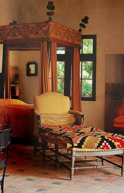 bohemian bedroom furniture. bedroom canopy bed and chaise lounge bohemian furniture