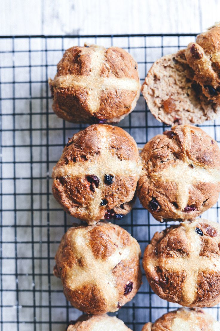 Healthy Hot Cross Buns — Elsa's Wholesome Life