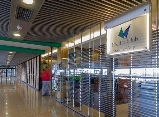 Pacific Club Salones VIP en Aeropuerto Internacional Comodoro Arturo Merino Benítez (SCL) in Pudahuel, Metropolitana de Santiago de Chile, Chile.