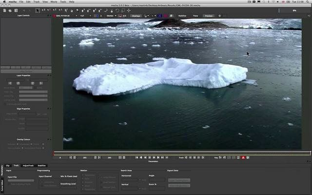 mocha tutorial: tracking titles in perspective In this new tutorial, Imagineer product specialist, Martin Brennand shows how to use mocha's planar tracker to match titles to camera movement. This is a good video to check out if you are a new user and includes a section on finishing in After Effects.