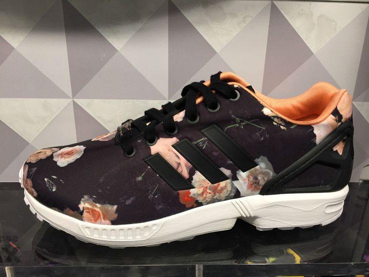 adidas zx flux leopard rose