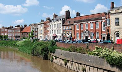 Betjeman's and Nairn's Wisbech town walk