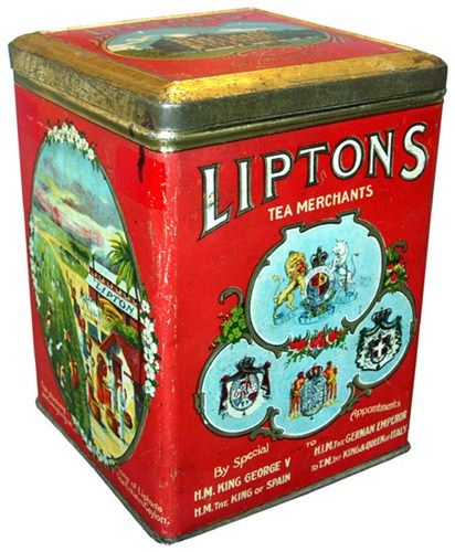Lipton's Tea Merchants, circa 1920s