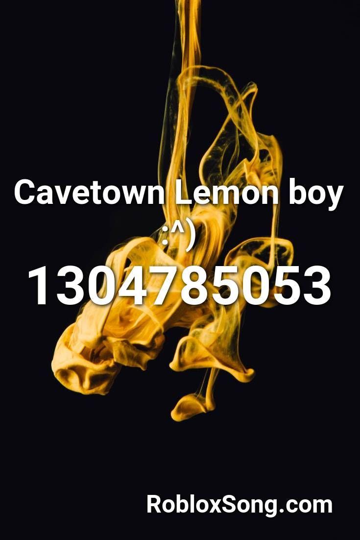 Cavetown Lemon Boy Roblox Id Roblox Music Codes In 2020