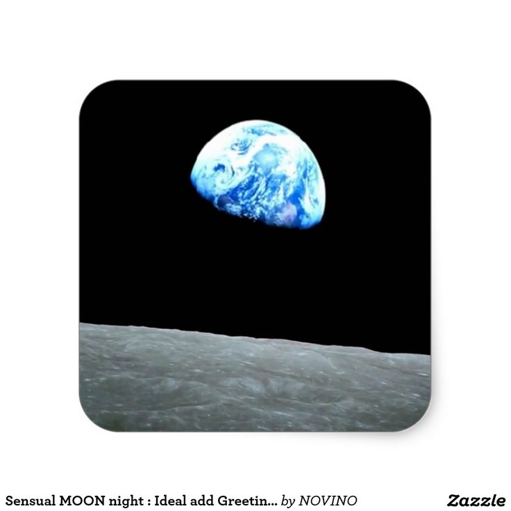 Sensual MOON night : Ideal add Greeting Text Classic Round Sticker