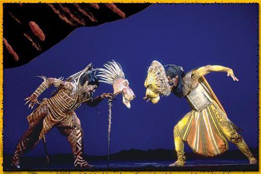 The Lion King Broadway Musical, vestuario