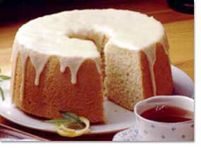 Chiffon Cake ....reminds me of my Nana as she made the best Chiffon Cake I have ever had