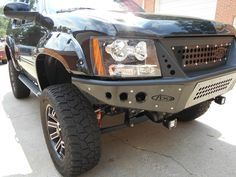 2007 - 2014 Chevy Tahoe/Suburban/Avalanche Stealth Front Bumper w/ Integrated Grille