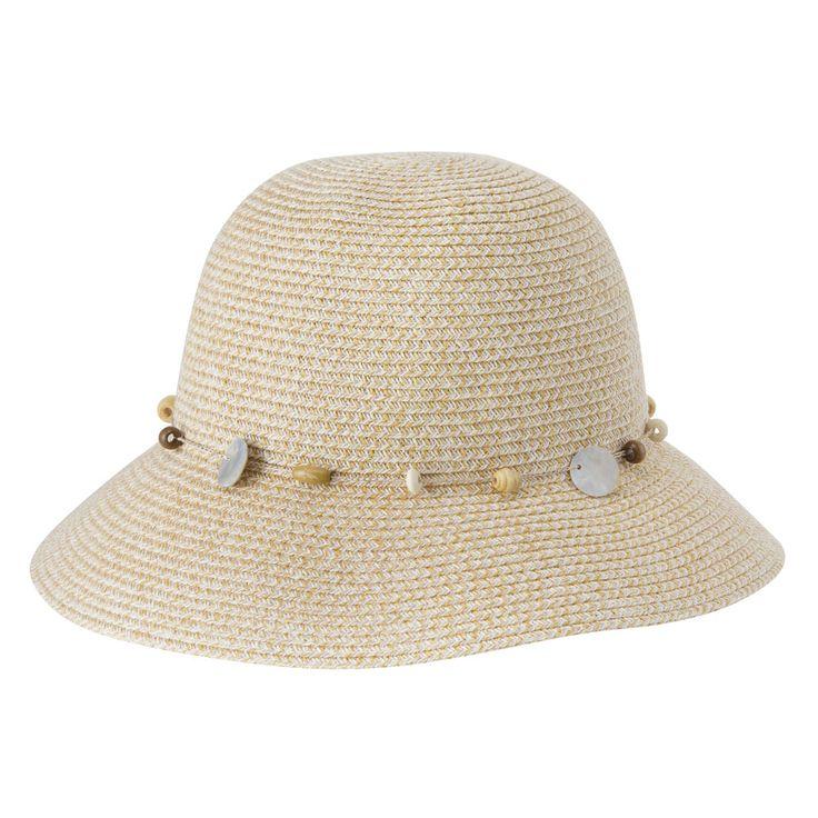 Gatsby Hat - Ivory White  www.sunhats.co.za