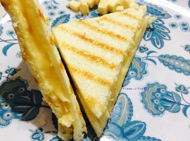 Melted inside Sandwich