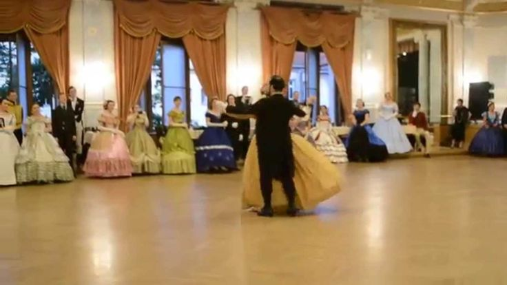 2015 DVORNA Vintage Dance Week Plzen Grand Ball performance by Olivia an...
