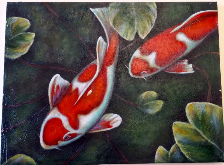 Simply Koi by DianeTrierweiler on Etsy