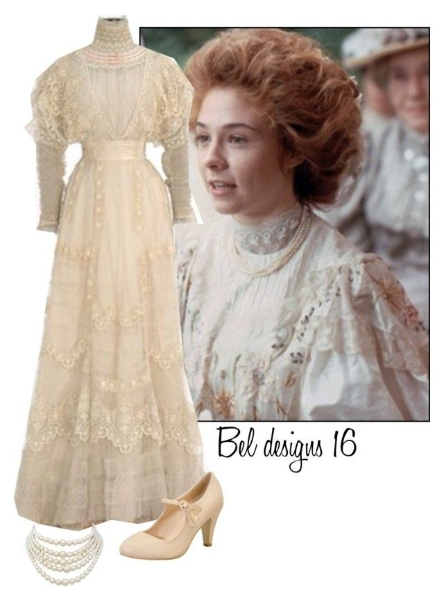 """""Anne of Green Gables"" ~Grace"" by isongirls ❤ liked on Polyvore featuring Christian Dior, Chase & Chloe, anneofgreengables and beldesigns16"