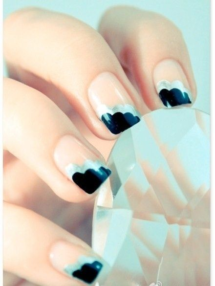 http://kosmetikosuzrasai.com: Nails Trends, Nails Art Ideas, Nails Design, Cute Nails, Spring Nails, Black Nails, Nails Art Design, Art Deco, Art Nails