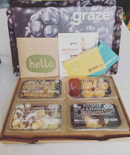 Foodie subscription boxes - Graze Box, $11.99