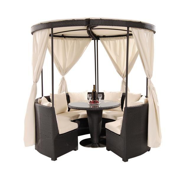 El Dorado Furniture : Coco Island Black Gazebo