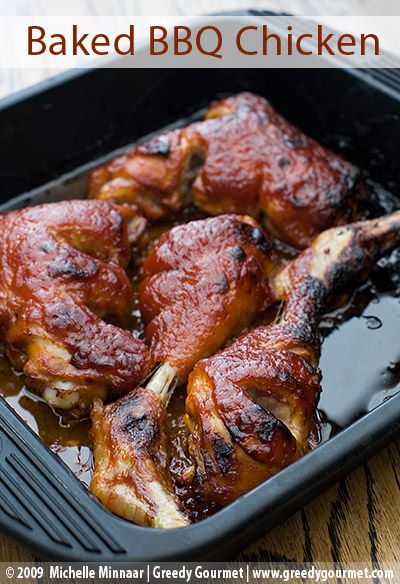 Oven Baked Barbecue Chicken Photo