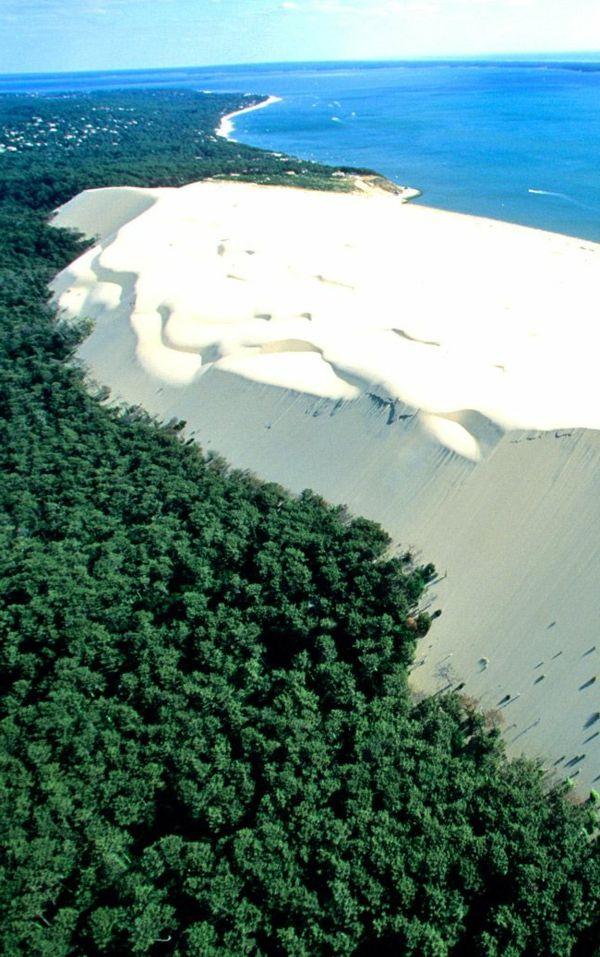 la dune du Pilat, nature phénoménale à Arcachon, France