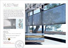 XL50 Pleat brochure