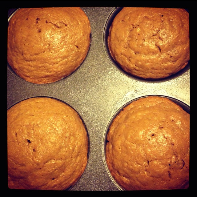 Low Fat Peanut Butter Banana Muffins Servings: 12 • Size: 1 muffin ...