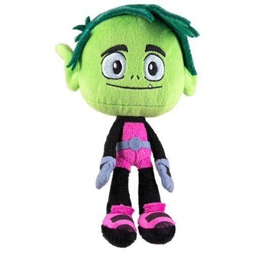 Boys Plush Toys : Plush teen titans go beast boy soft doll toys new