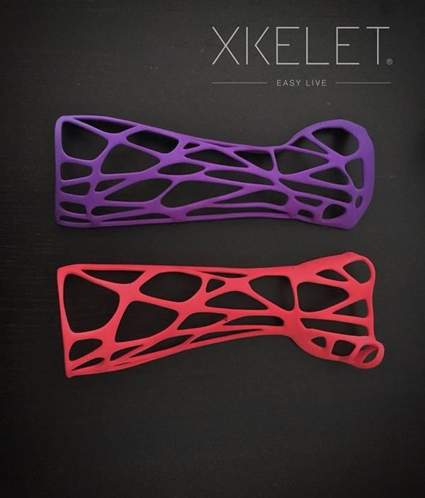 3ders.org - Xkelet wins Red Dot award for custom-fitting 3D printed orthosis that optimizes hygiene and comfort | 3D Printer News & 3D Printing News