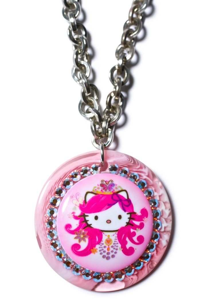 Tarina Tarantino Hello Princess Chain Necklace | Dolls Kill
