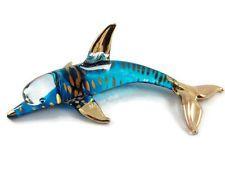 Glastier Delphin Glas Tier Glas Figur Glasfiguren Kristall Figuren Kristall