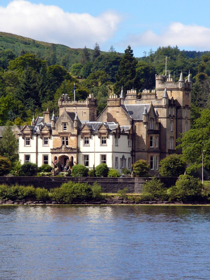 Cameron House Hotel - Loch Lomond, Scotland. Looks like a dream place to stay!