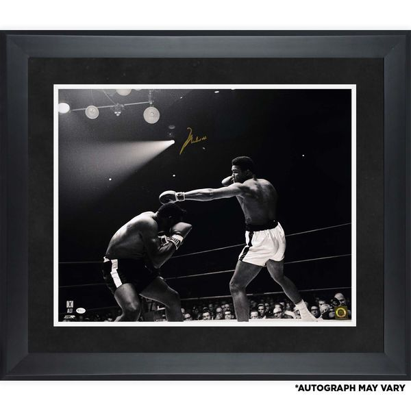 "Muhammad Ali Framed Autographed 20"" x 24"" Versus Floyd Patterson Photograph - $2999.99"