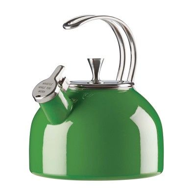 Kate Spade New York® Tea Kettle, Green #katespade #teakettle #giftsforgrads