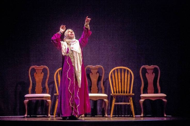 """Susaan Jamshidi plays the titular character in Rohina Malik's """"Yasmina's Necklace"""" at the Goodman Theatre in Chicago."""
