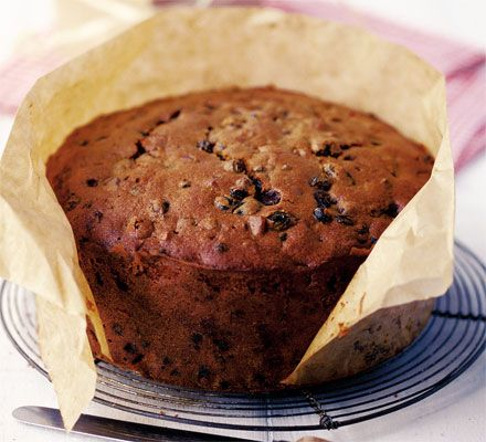 A long-life Christmas cake that's bursting with flavours of spices and vanilla