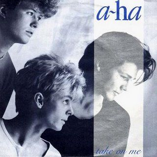 A-Ha - Take on Me.  I saw them in concert as a teenager.  One of the best 80's bands.