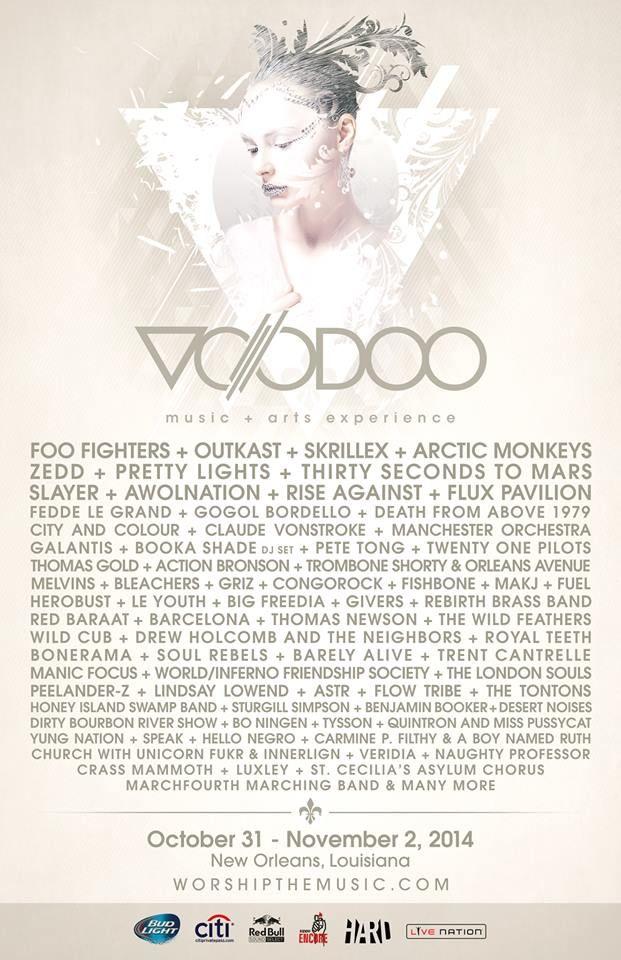 Voodoo Fest 2014