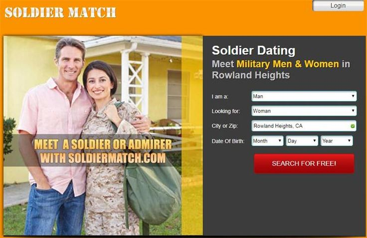 Dating site to meet military women